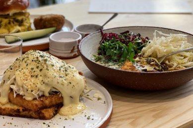 Brik Café: Ethically conscious restaurant in the Rosebank fire station