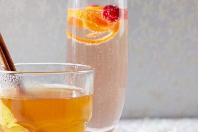 Recipe: Cranberry Grand Marnier sparkler