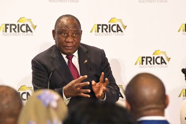 Ramaphosa ready to tackle Africa's problems, including road from the Cape to Cairo