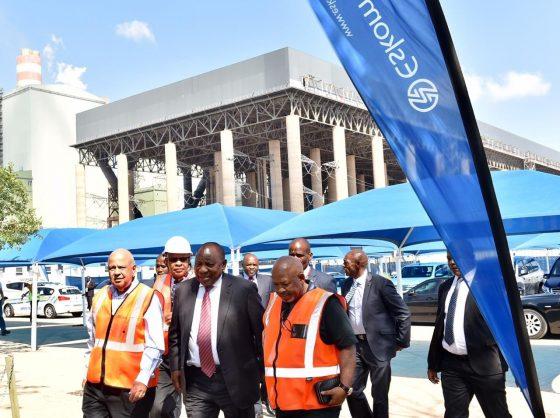 Let's hope stage 6 load shedding shocked Ramaphosa