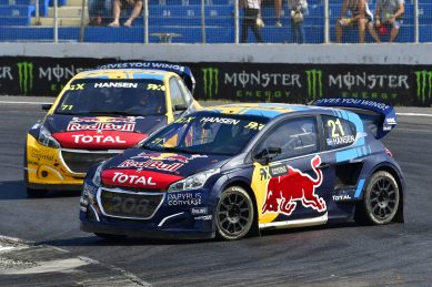 Timmy Hansen crowned 2019 World RX champion in Cape Town