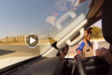 WATCH: Officers busted demanding payment of fine 'now'