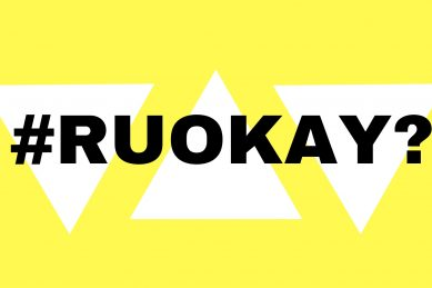HEY! RU OK?! With a story from a mom who's not okay