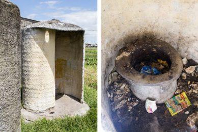4,000 South African public schools still use pit latrines