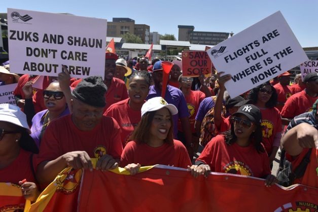 DA MP Cardo wants airline employees to be prohibited from striking