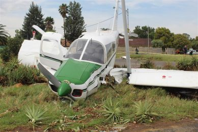 Two survive light aircraft crash in Springs