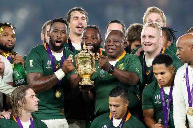 Ramaphosa praises Springbok Rugby World Cup triumph