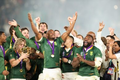 Once a whites-only team, the Springboks thrive with racial unity
