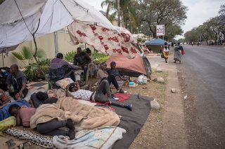 Refugee sit-in in Pretoria is not illegal, SAPS say