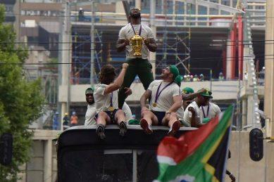 Springbok trophy parade was a farce