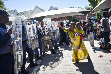Why refugees are demanding to leave South Africa