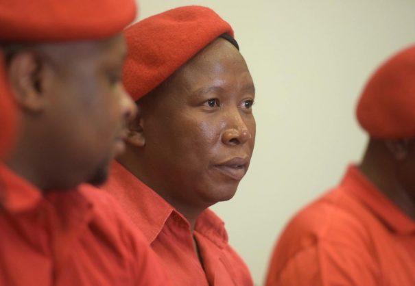 Level 4 lockdown sees postponement of Malema's machine gun case
