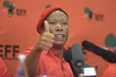Malema 'aware' of those 'being sent money' ahead of EFF elections