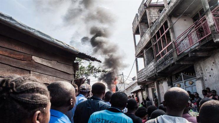 Twenty-three bodies found in DR Congo plane crash: rescue service