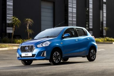 Datsun drops Go/Go+ pedal count to two