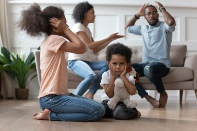 How arguing in front of your children can damage their emotional psyche