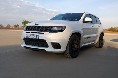 Throwing (the Jeep Grand Cherokee Track) hawk among pigeons