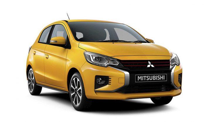 Returning Mitsubishi Mirage nipped and tucked