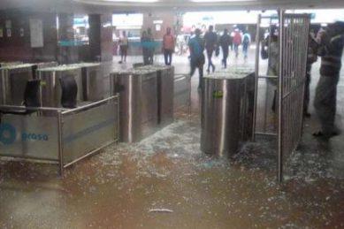Prasa blames 'criminals' for being behind vandalism at Joburg's Park Station