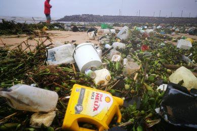 WATCH: Heavy rains wash piles of litter onto KZN beaches