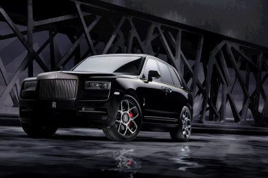 Rolls-Royce Cullinan exposes its Black side
