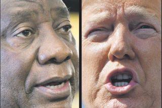 'Pleased' Trump backs Ramaphosa, pledges cooperation - Citizen