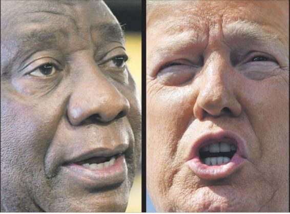 Ramaphosa and Trump have 'productive phone call' about Covid-19