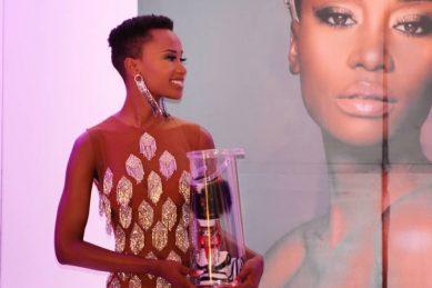 WATCH: Zozibini Tunzi's singing voice impresses South Africans