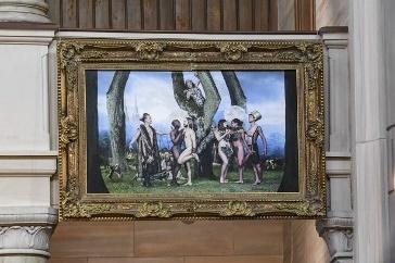 Gay altarpiece of original sin makes waves in Sweden
