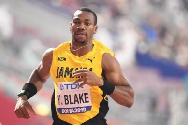 Sprint star Blake lashes IAAF chief Coe for 'killing' athletics