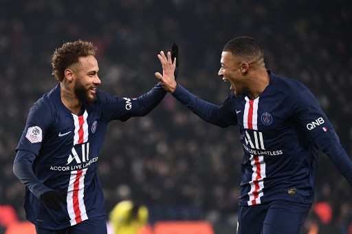 Neymar, Mbappe fire PSG five points clear in Ligue 1
