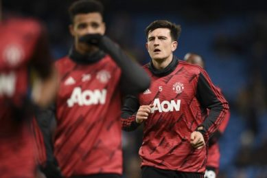 Maguire says top four in sight for improving Man Utd