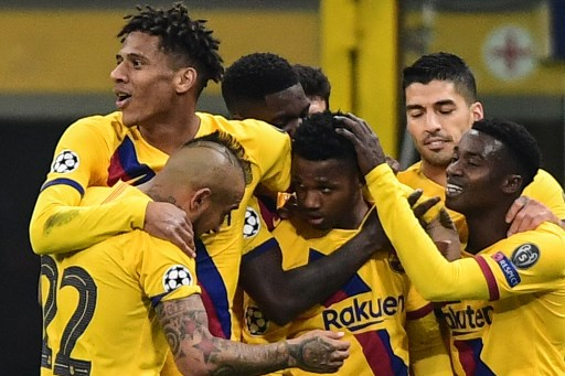 Fati makes history as Barca send Inter crashing out of Champions League