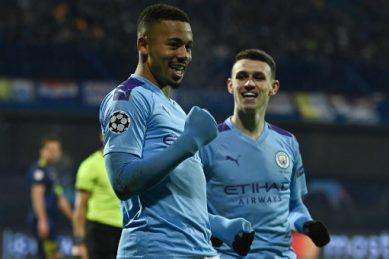 Jesus strikes as Man City shrug off spot-kick jitters to beat Leicester