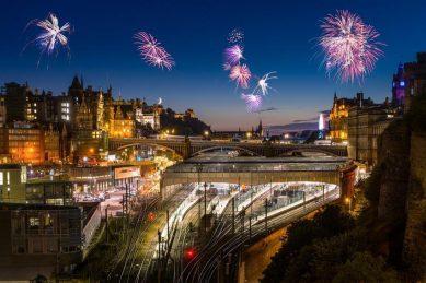 New Year celebrations in Scotland