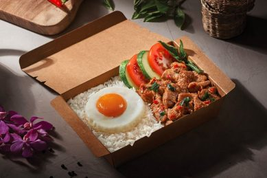 AirAsia opens fast-food restaurant that serves airplane food