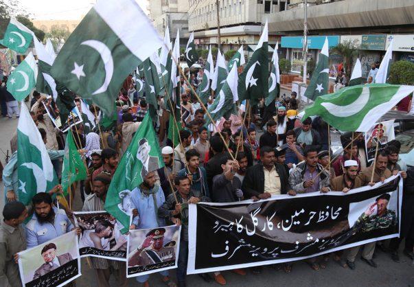 Former Pakistan leader Pervez Musharraf slams death sentence 'vendetta'