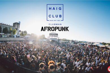 Haig Club Clubman announces three-year Afropunk Joburg Partnership