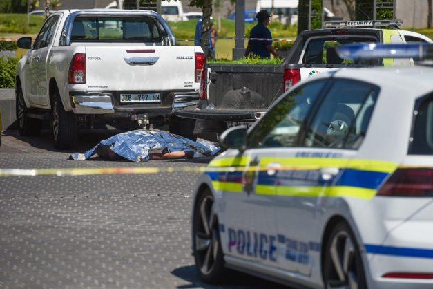 WATCH: Man shot at Menlyn Maine shopping centre