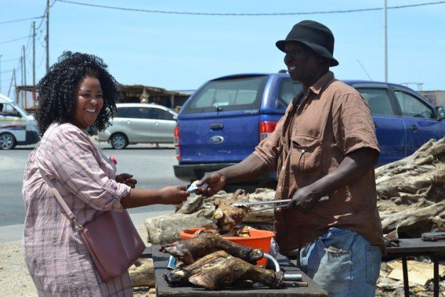 Elderly couple rewards kind stranger with … a meat business