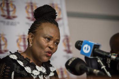 ANC will support DA's bid to have Mkhwebane axed – source