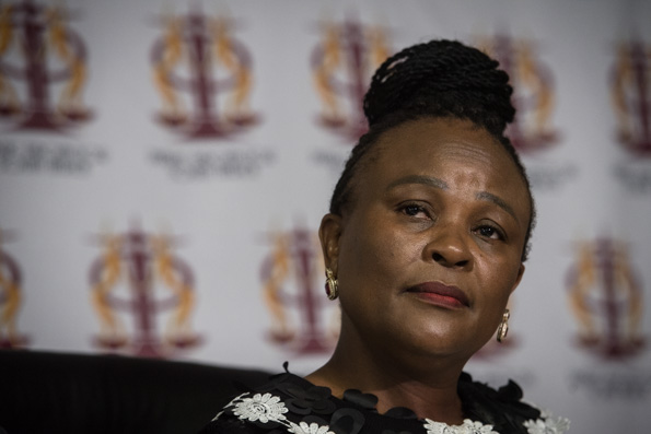 Mkhwebane hopes for a 'better experience in 2020'