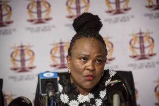 Parliament approves initiation of motion for Mkhwebane's removal