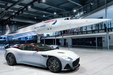 Aston Martin DBS has its Concorde moment