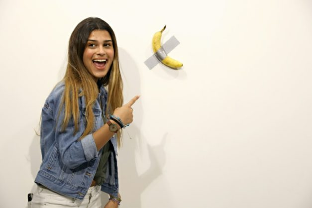 Man eats R1.7 million piece of art — a banana taped to wall