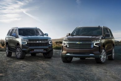 Chevrolet's iconic large(r) Tahoe and Suburban step-in