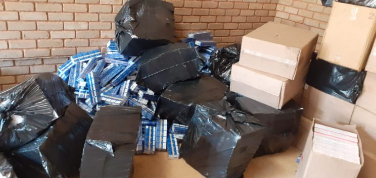 Over 3,000 boxes of illegal cigarettes confiscated in Makhado