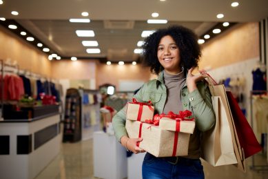 Christmas shopping tricks for parents