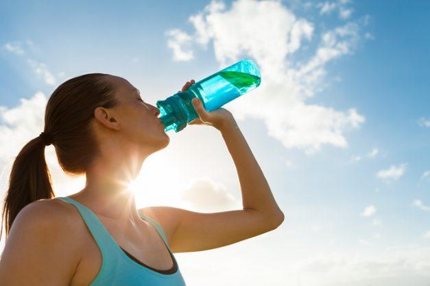 How to avoid heatstroke when exercising in summer