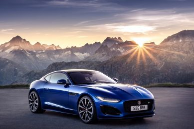 Sleeker Jaguar F-Type leaps into action